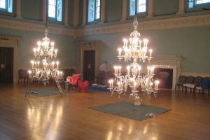 Winches and hoists for Chandeliers